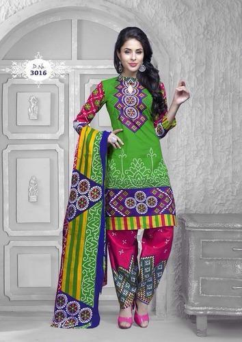 Unstitched Cotton Bandhani Salwar Suits, Rs 450 /piece The Style .