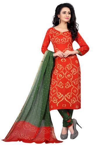 Salwar Suit In Bandhani Design at Rs 675/piece | Bandhani Suit .