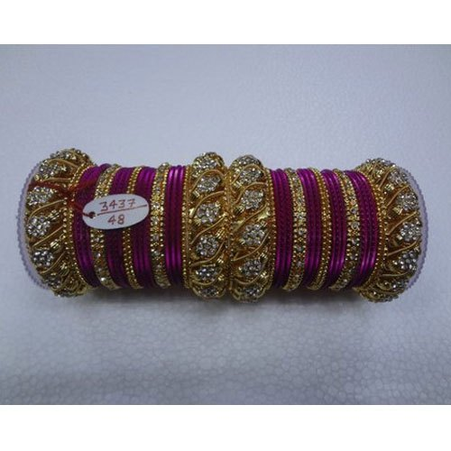 Round Designer Wedding Glass Bangles, Packaging Type: Box, Rs 400 .