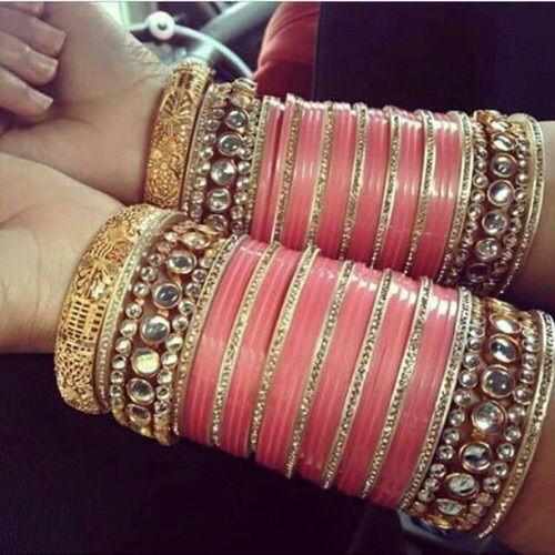 Pinterest: @pkaursekhon | Bridal bangles, Bride jewellery, Bangles .