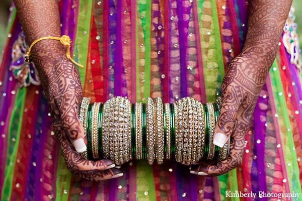 Indian wedding garba bridal lengha bangles | Photo 122