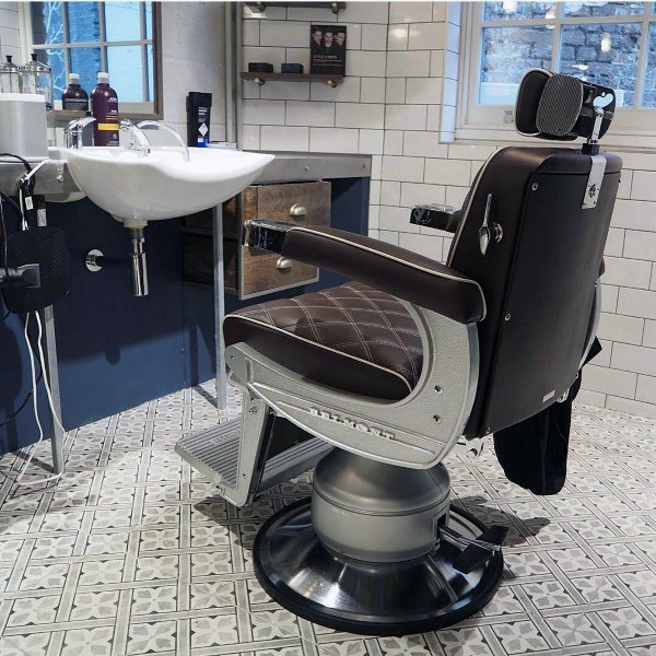 Top 80 Best Barber Shop Design Ideas - Manly Interior Dec