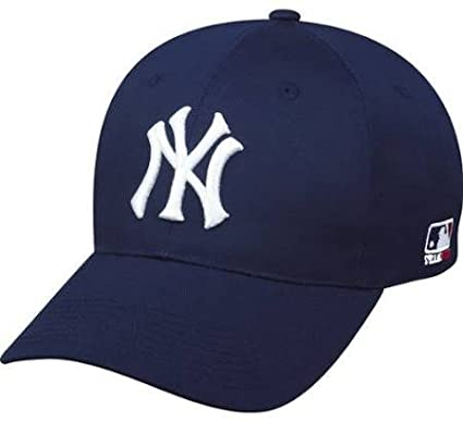 Amazon.com : New York Yankees Adult Adjustable Hat MLB Officially .