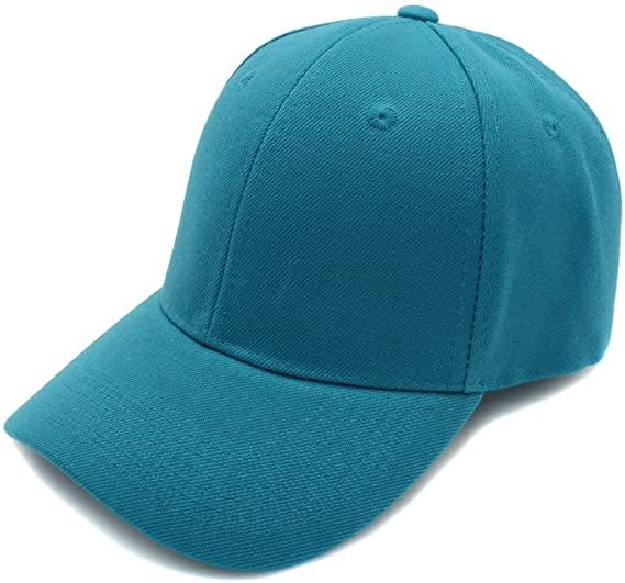 Amazon.com: Baseball Cap Hat Men Women - Classic Adjustable Plain .