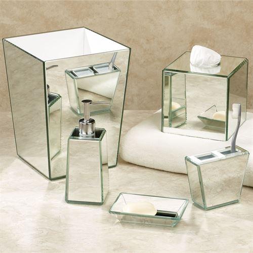 Crystal Mirror Bath Accessori