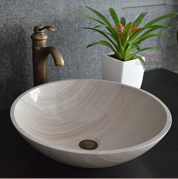 Wood Grain Marble Bathroom Basins Marble Designer Sin