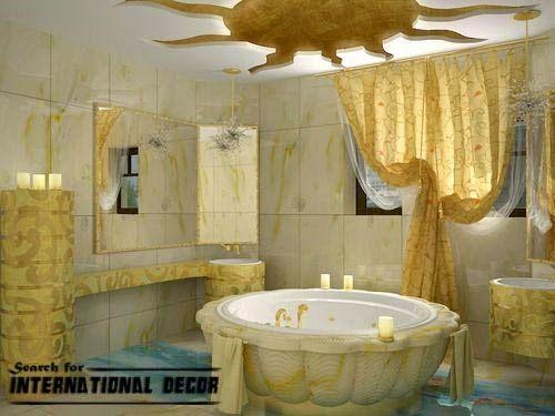 False ceiling designs for bathroom (With images) | Pop false .