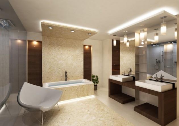 17 Extravagant Bathroom Ceiling Designs That Youu002639;ll Fall .