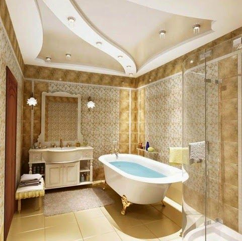 Bathroom Ceiling Designs