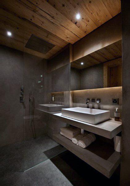 Top 50 Best Bathroom Ceiling Ideas - Finishing Desig