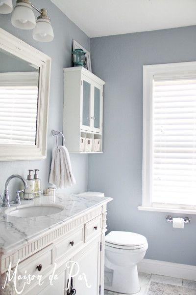 Popular Bathroom Paint Colors | Small bathroom, Bathroom makeover .