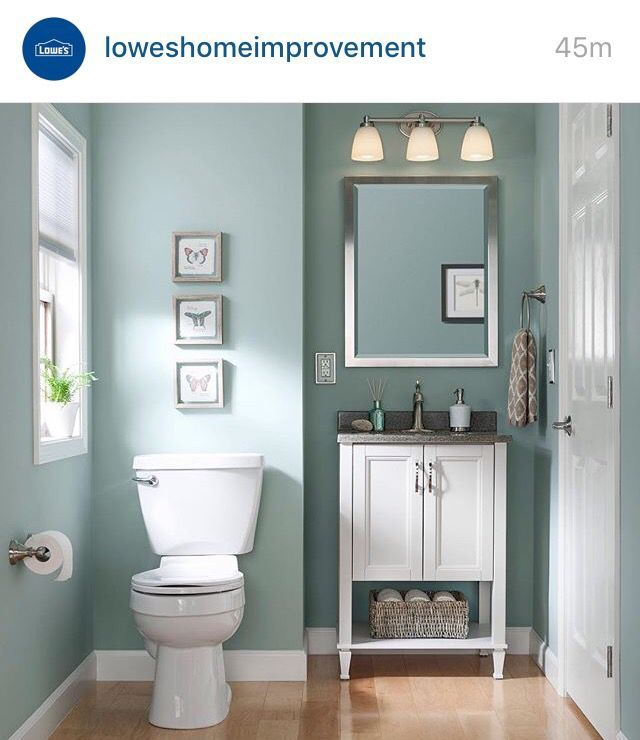 Breathe life to your bathroom using color (With images) | Small .