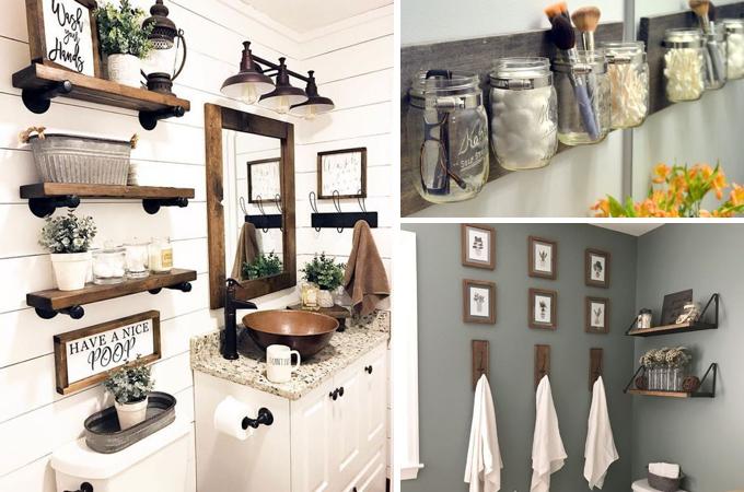 12 Stylish & Functional Bathroom Decor Ideas | The Unlikely Hoste