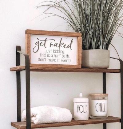 Half Bathroom Decor Ideas » JENNIFER MCMAH
