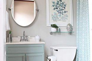 13 Pretty Small-Bathroom Decorating Ideas You'll Want to Copy .