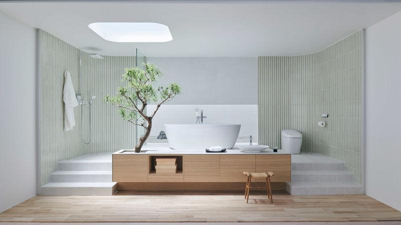 Mindful Japanese Bathroom Designs : japanese Bathroom Desi