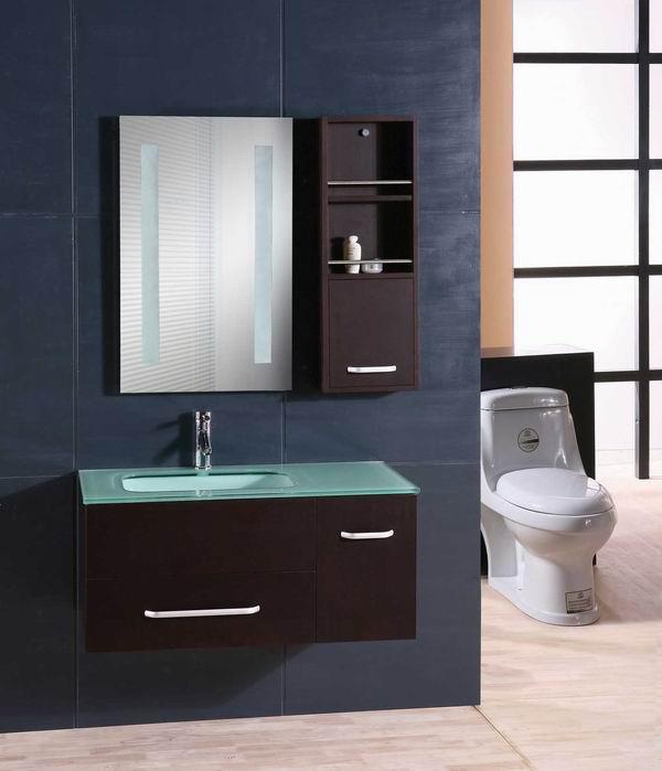Classic Design Mdf Glass Wash Basin Bathroom Mirror Cabinet - Buy .