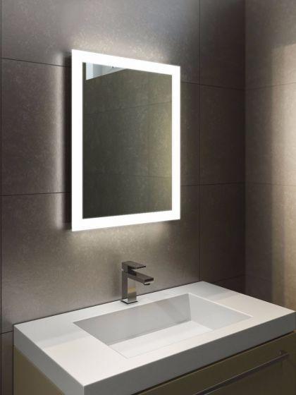 Halo Tall LED Light Bathroom Mirror 1416 | Bathroom mirror design .