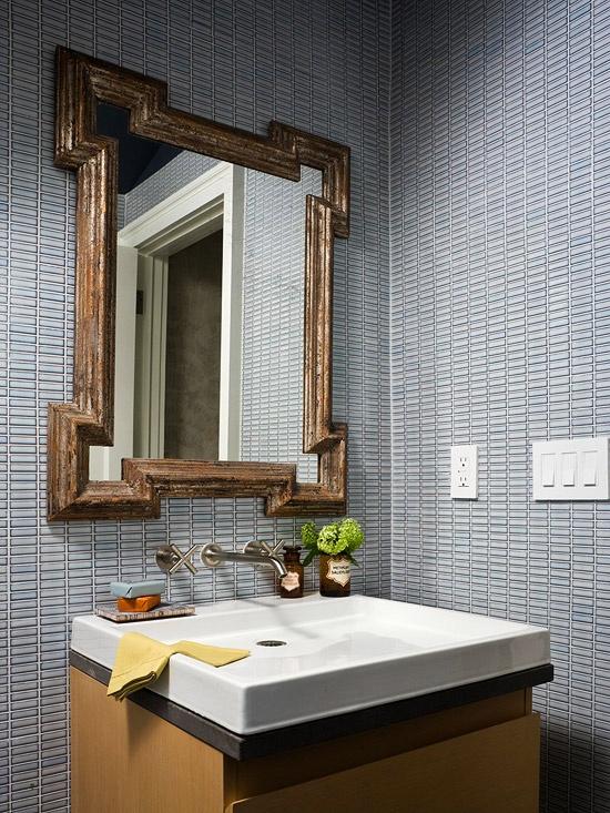 25 Inspirational Bathroom Mirror Desig