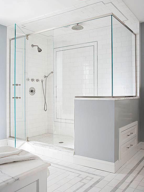 31 Breathtaking Walk-In Shower Ideas | Better Homes & Garde