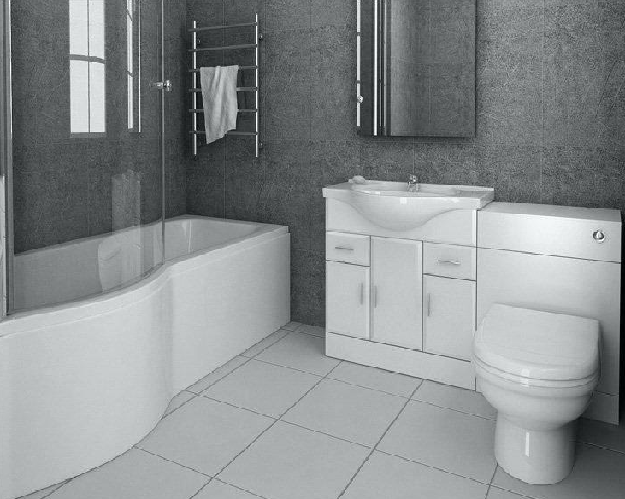 Bathroom Suites Sale - Image of Bathroom and Clos