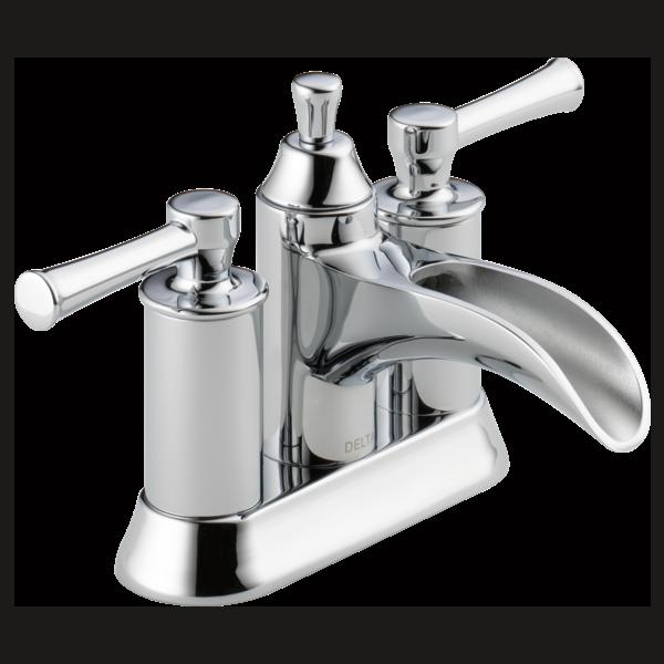 Two Handle Centerset Bathroom Faucet 25720LF | Delta Fauc