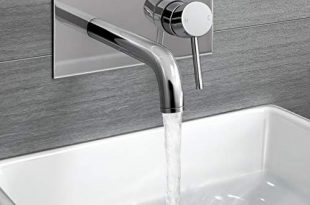 How to decorate your bathroom with wall mounted basin taps .