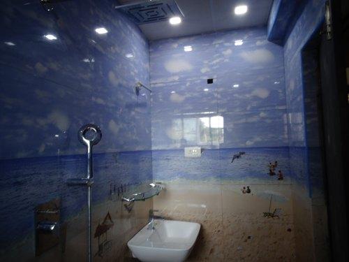 Multicolor Ceramic Tiles Contemporary Bathroom Tile Design .