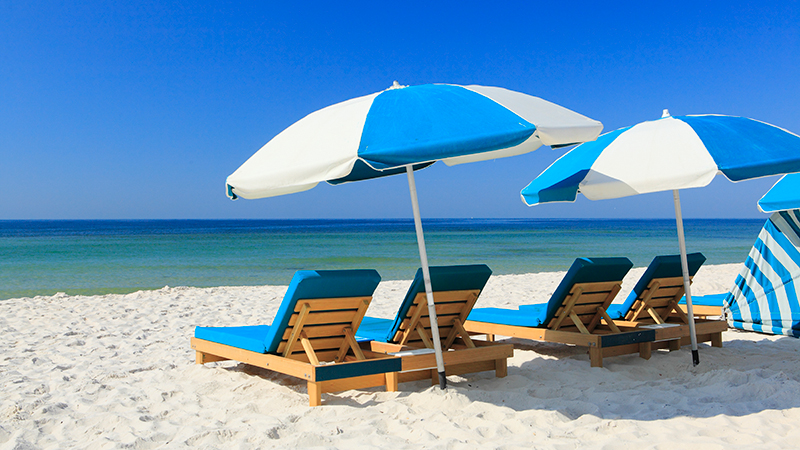 Beach Chair Rentals Orange Beach, AL at Turquoise Place Reso