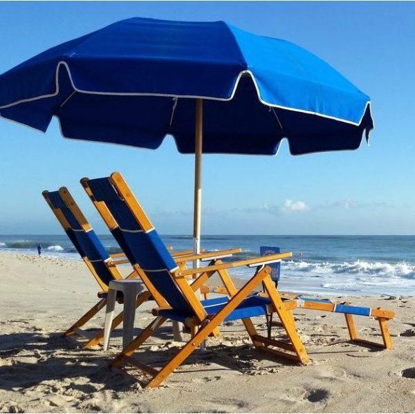 Umbrella + 2 Beach Chairs - Vero Beach Rental - GEA