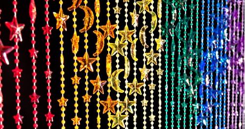 Stars & Moons Beaded Curtains & Door Beads | ShopWildThin