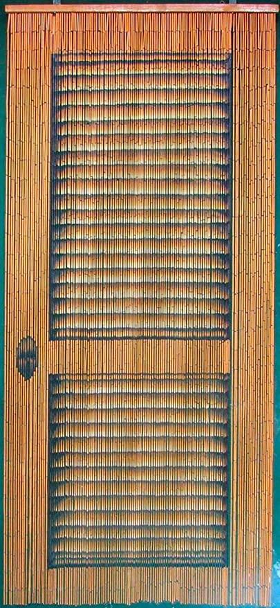 Amazon.com: ABeadedCurtain 125 String Louver Door Beaded Curtain .