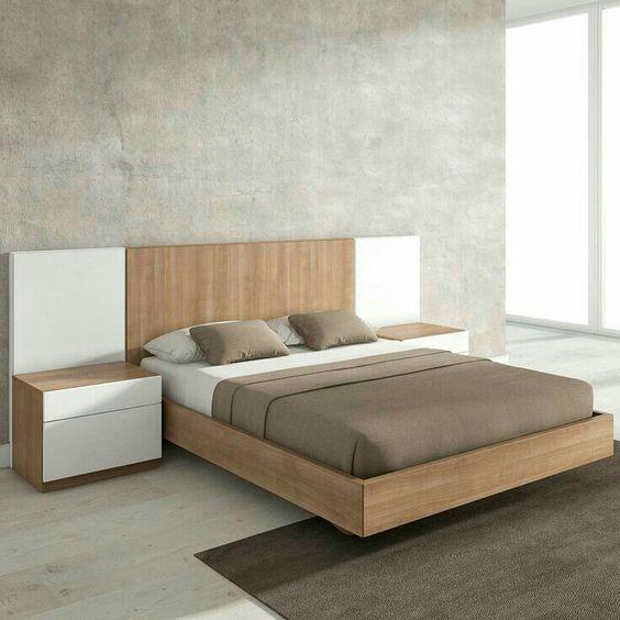 25 Double Bed Design Ideas | Bed furniture design, Bedroom .