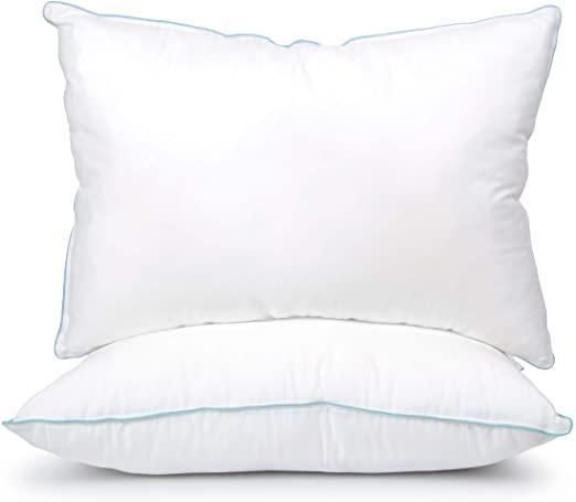 Amazon.com: SLEEPY FOLKS Premium Quality Bed Pillows | Side or .