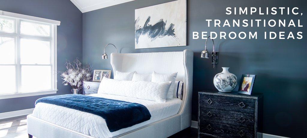 Simplistic, Transitional Bedroom Ideas | Interior Design Blog .