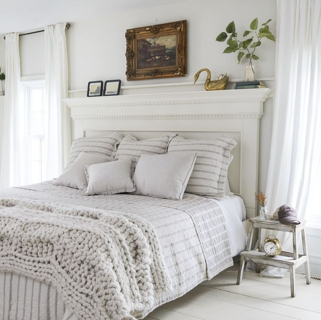 45 Best White Bedroom Ideas - How to Decorate a White Bedro