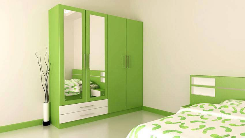 Bedroom Cabinets With Wooden Finishes to Keep Your Heads Up .