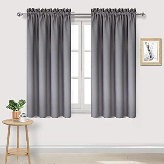 Amazon.com: DWCN Blackout Curtains Room Darkening Thermal .