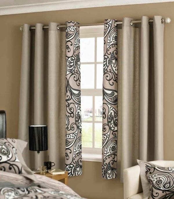 10 Cool ideas for bedroom curtains for warm interior 20