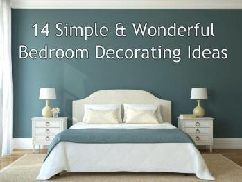 Simple Bedroom Decorating Ideas – BAC-O