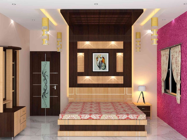 bedroom interior by Sunny Singh, Interior Designer in Kolkata,West .