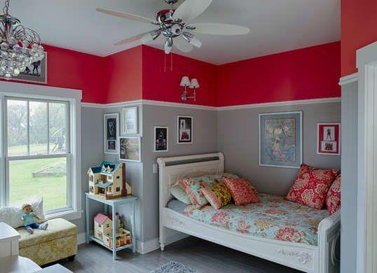 7 Cool Colors for Kids' Rooms | Kids bedroom paint, Bedroom red .