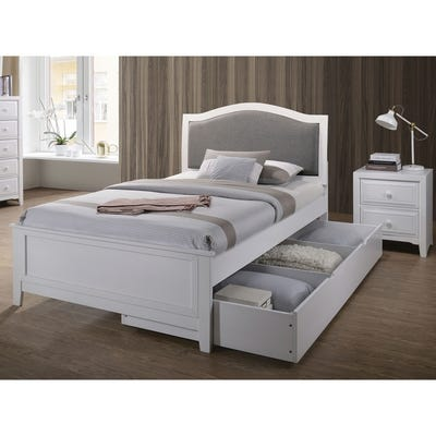 Buy Twin Size Upholstered Headboard Bedroom Sets Online at .