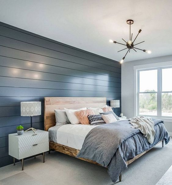 15 Exciting Modern Bedroom Wall Designs For Bedroom Dec
