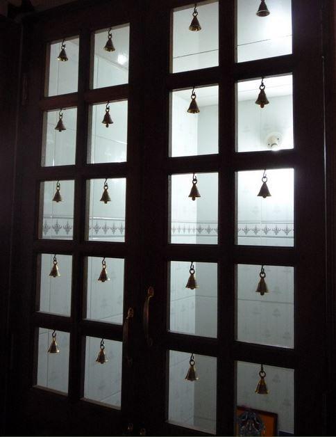 Pooja Room Door Designs (With images) | Pooja room door design .