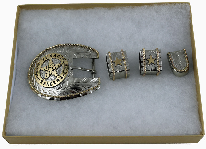 Buckles and Jewelry - Texas Ranger Hall of Fame and Muse