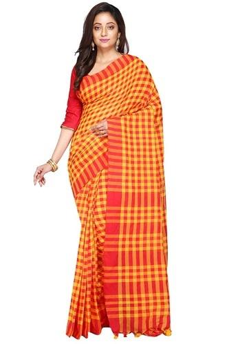 Fancy Bengali Cotton Saree, 6.3 M (with Blouse Piece), Rs 450 .