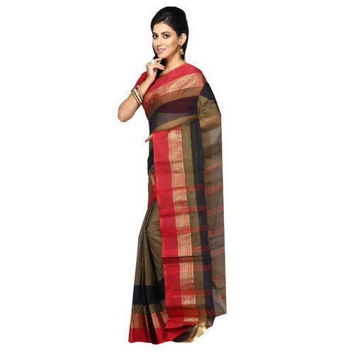 Fancy Bengali Cotton Saree, 6.3 M (with Blouse Piece), Rs 580 .