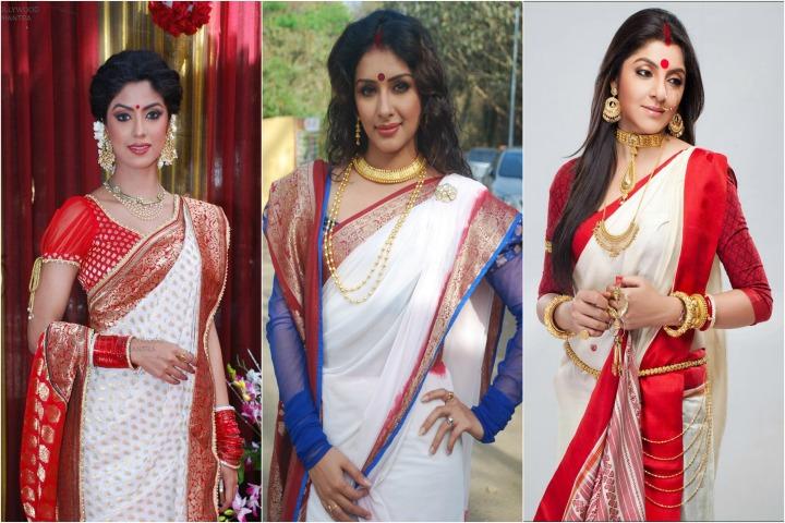15 Traditional Bengali Sarees With Imag
