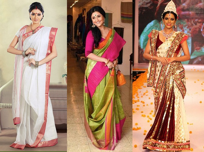 Things you always wanted to know about Bengali Sarees .